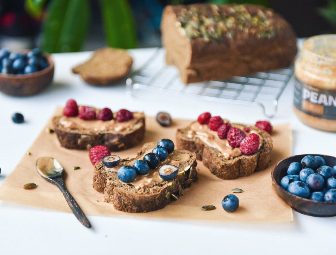 Fitness recipe: Protein low-carb bread rich in fiber