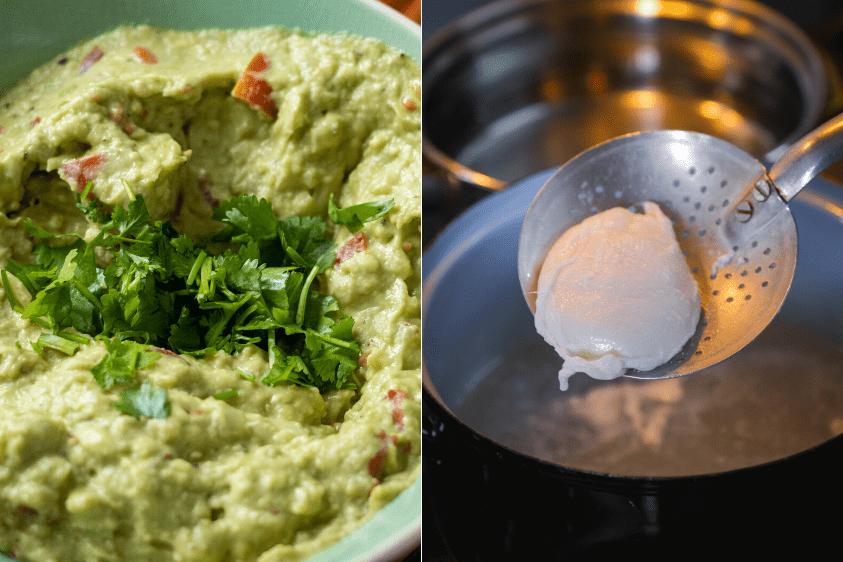 Modul de preparare pentru pâinea cu pastă de avocado și ou poșat