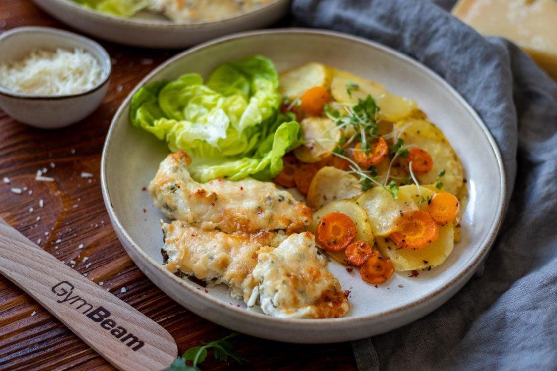 Ricetta fitness: petto di pollo al forno con marinata allo yogurt