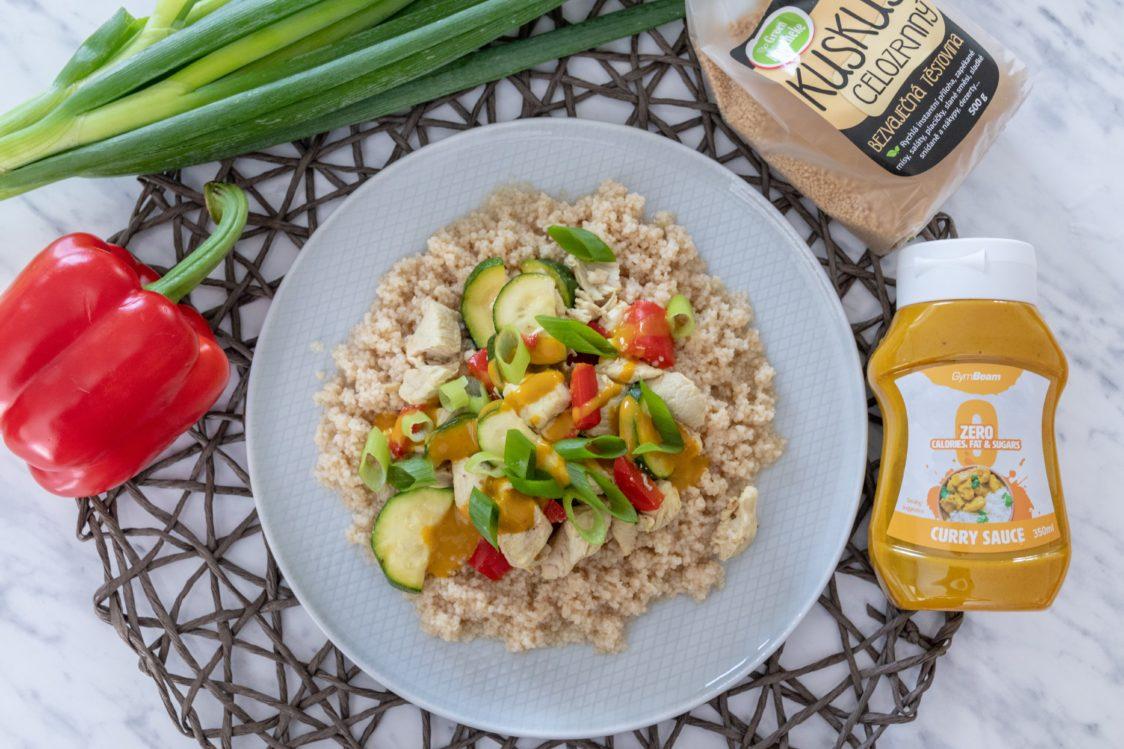 Ricetta fitness: cuscus con pollo e verdure