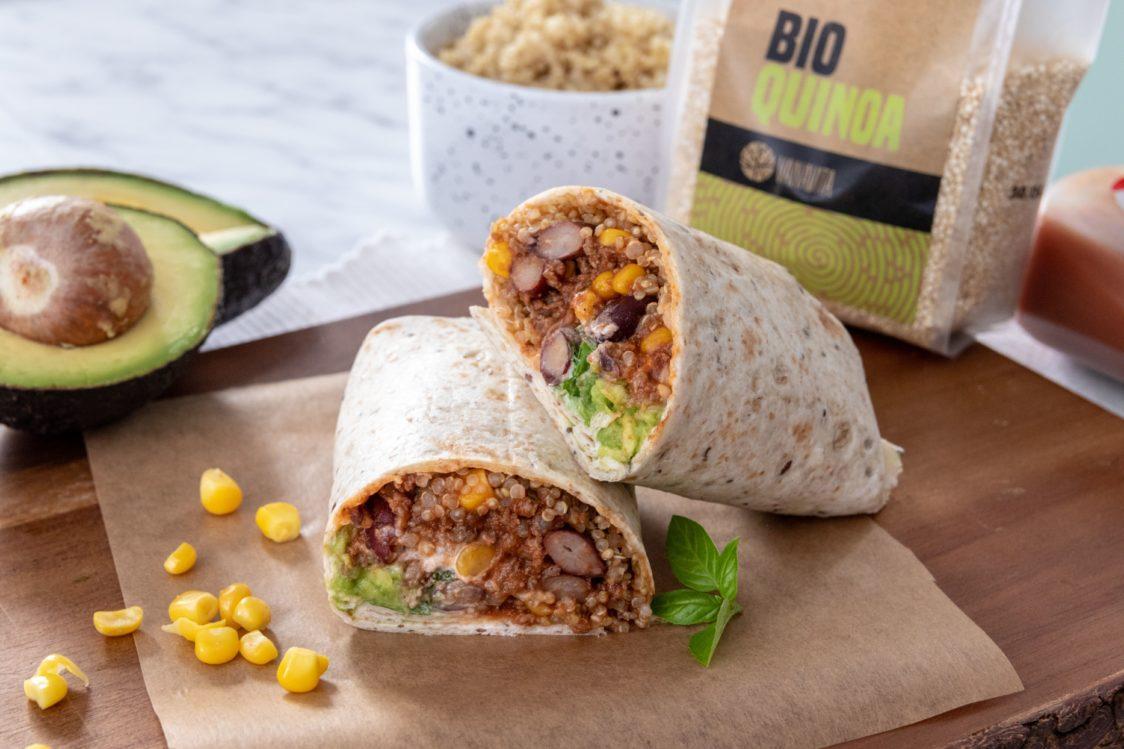 Rețetă fitness: Burrito suculent din carne de vită și quinoa