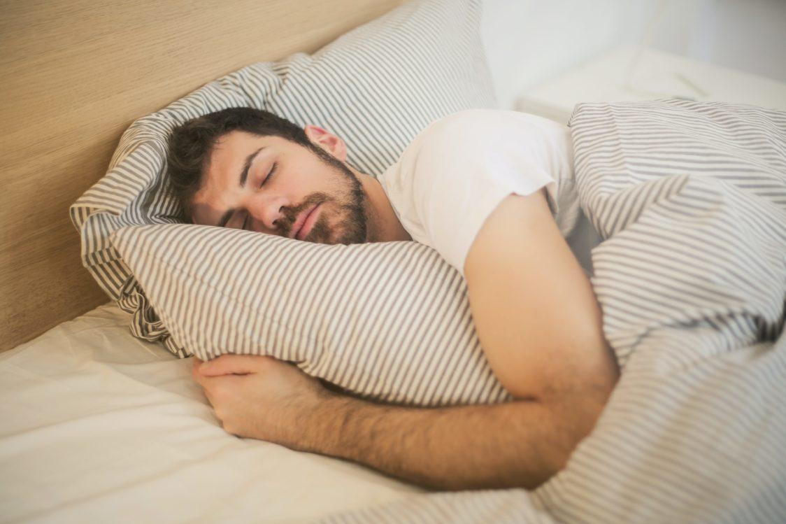 Healthy sleep = good mood