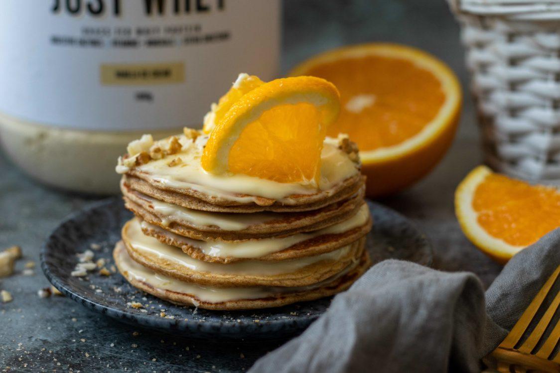 Fitness recipe: Kefir pancakes full of protein