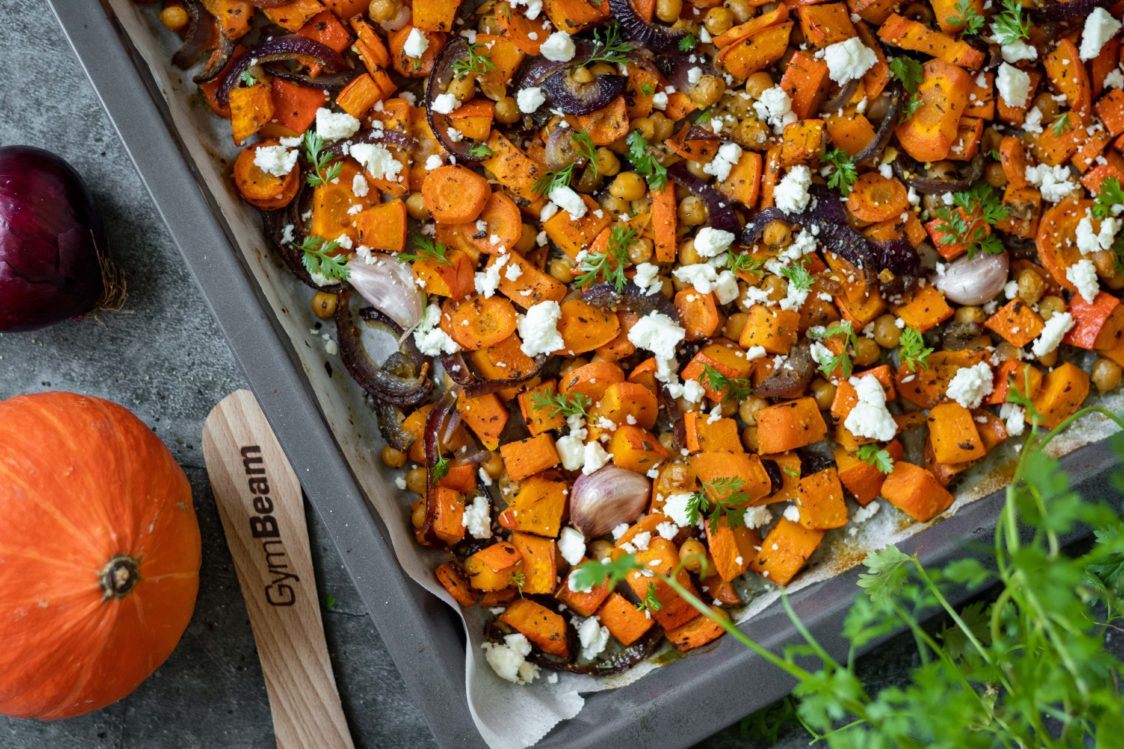 Fitness Recipe: Baked Vegetables with Feta Cheese