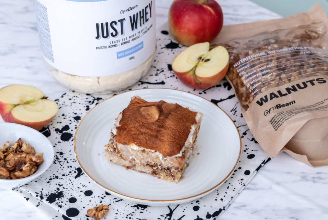 Fitness recipe: Fitness apple pie loaded with protein