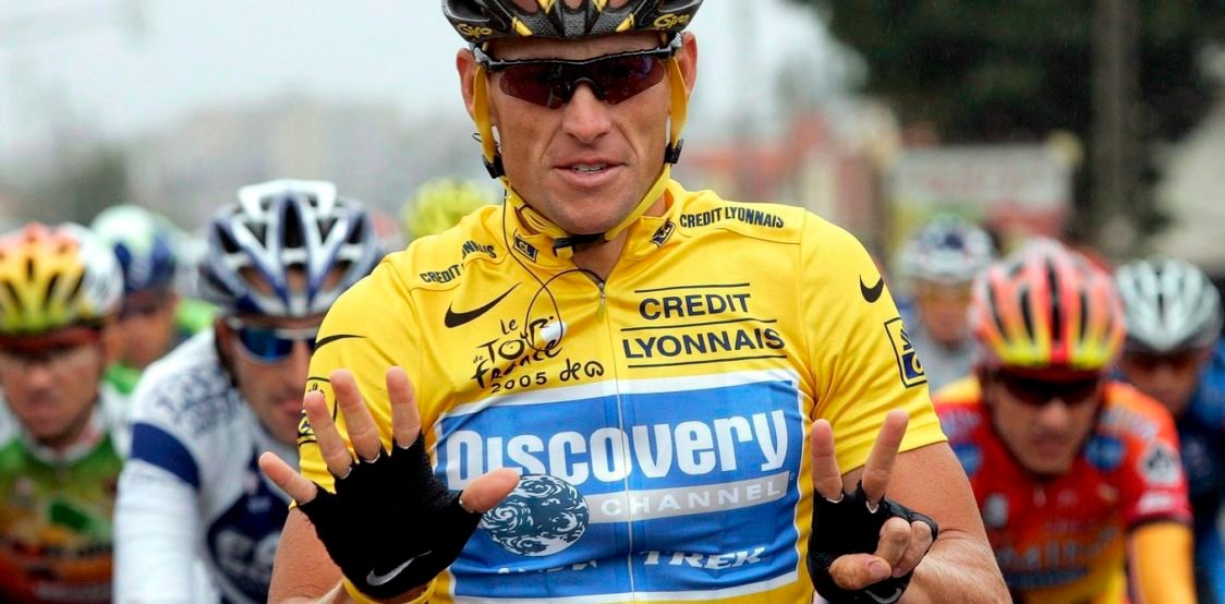 Lance Armstrong med Tour de France