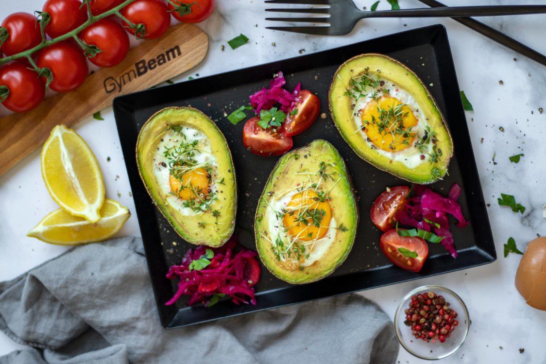 Fitnes recept: Avokado z jajci