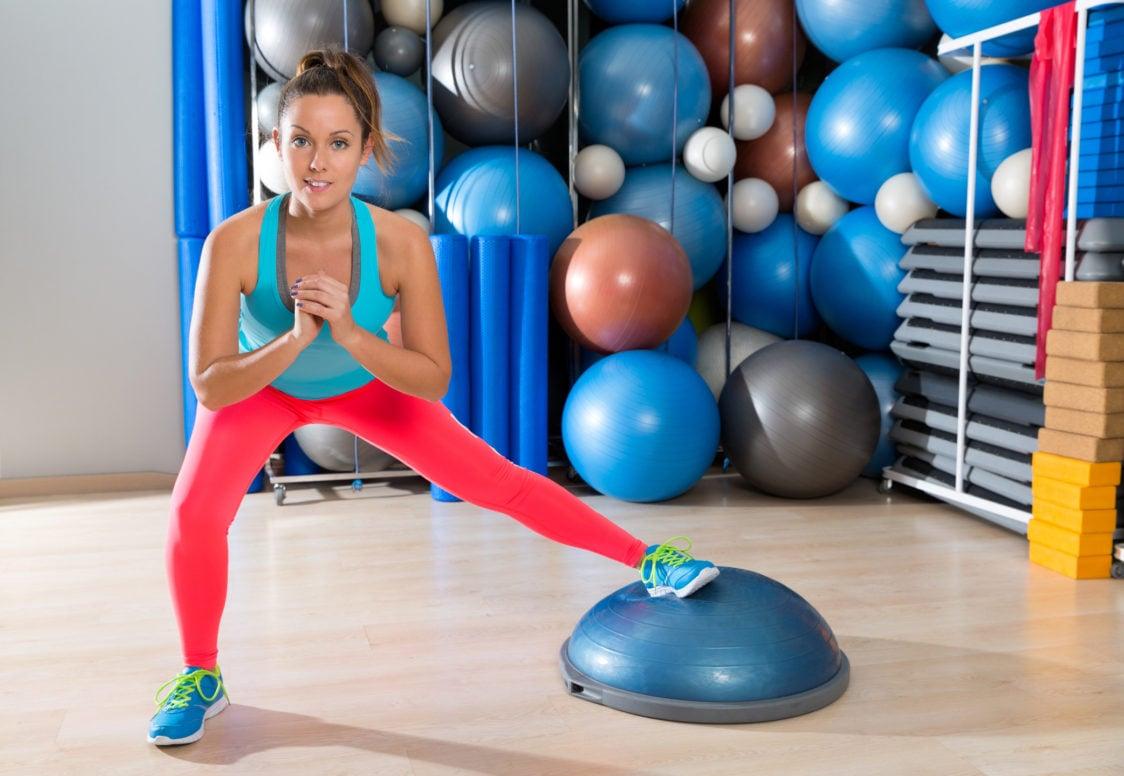 Balančná podložka je skvelým a univerzálnym doplnkom pri tréningu rovnováhy.