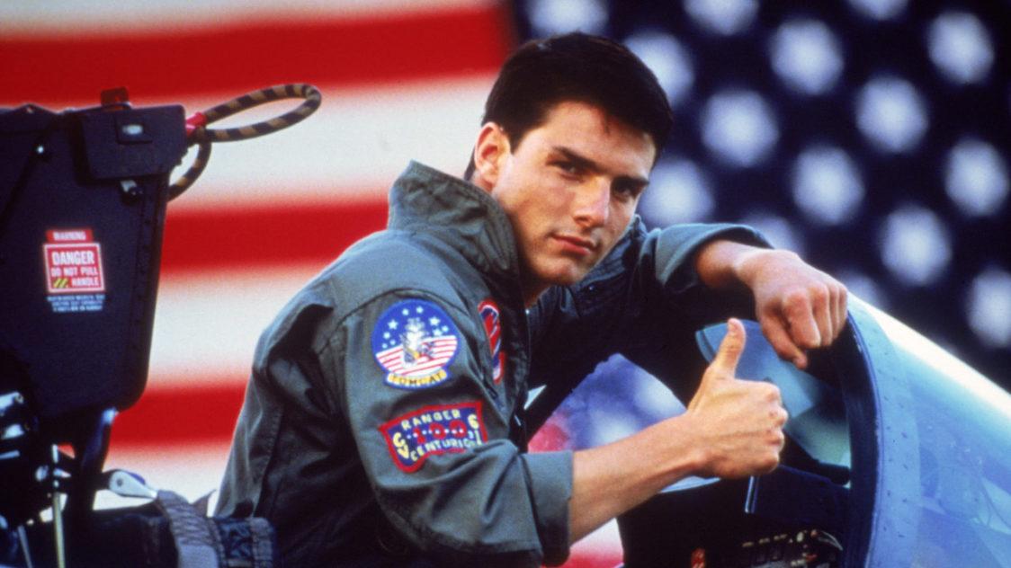 """Tom Cruise Pete """"Maverick"""" Mitchell pilótaként"""