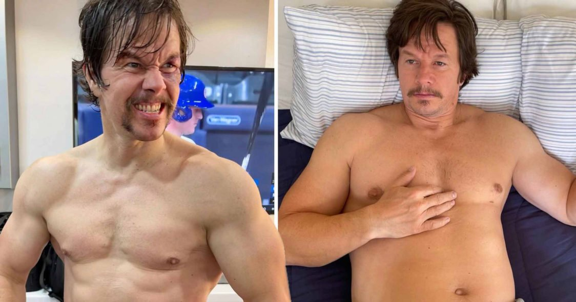 Mark Wahlberg sacrificed his athletic body to the role of an obese boxer