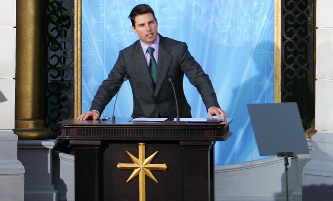 Tom Cruise a szcientológus