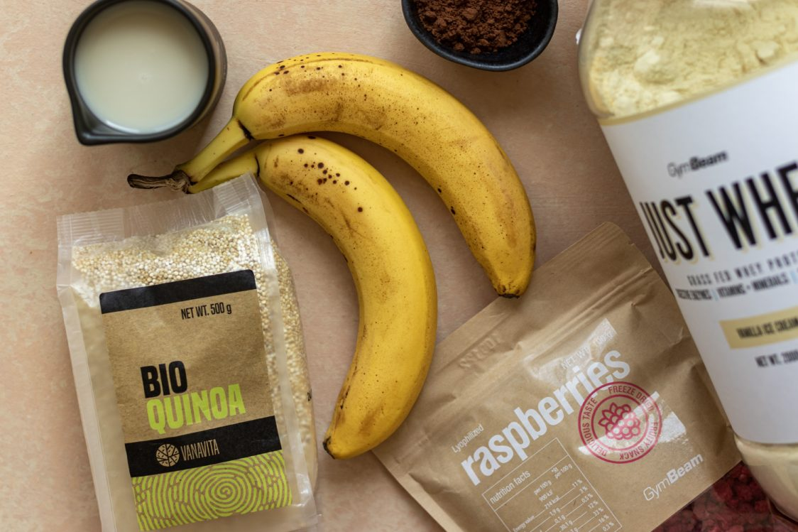 Ingredients for Chocolate Quinoa