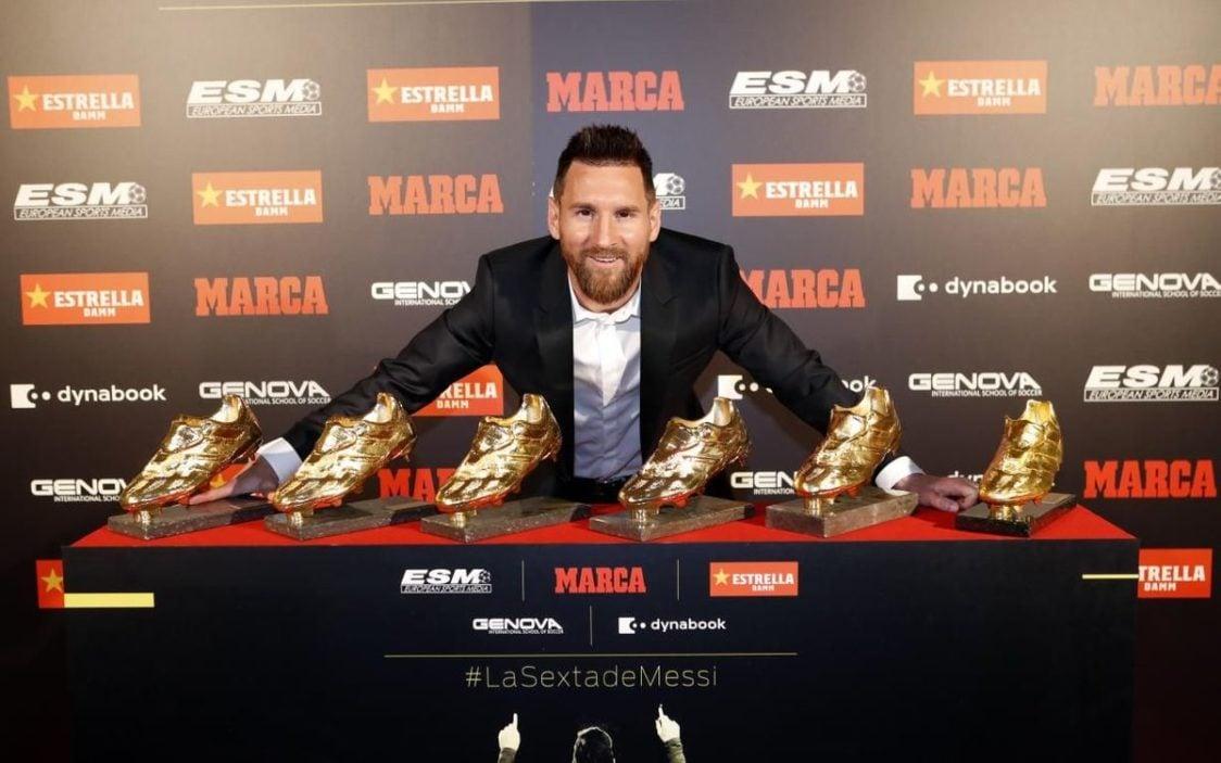 Lionel Messi și cele șase Baloane de Aur ale sale