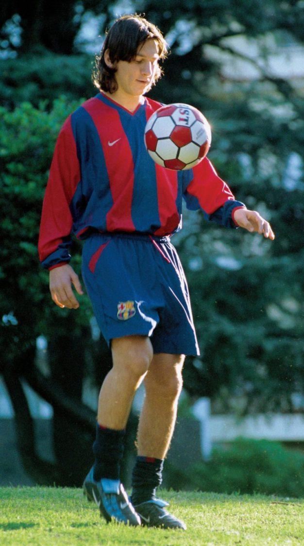 Lionel Messi face parte din celebra Academia La Masia