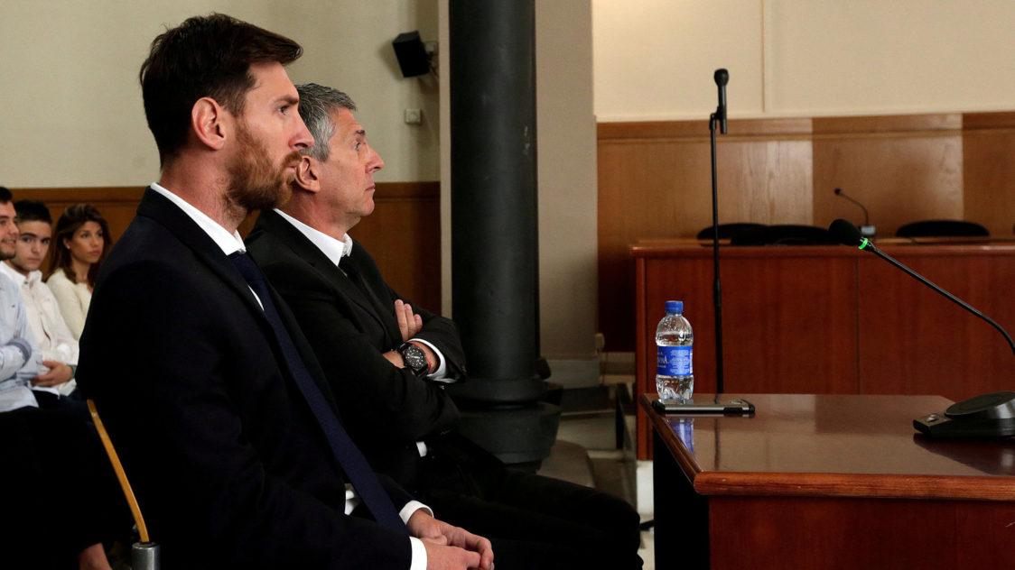 Lionel Messi cu tatăl său Jorge în instanță pentru fraudă fiscală.