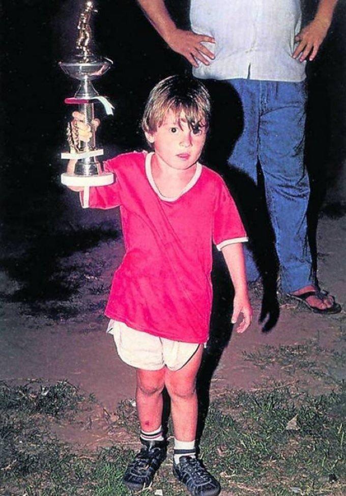 Lionel Messi era prea mic pentru a juca fotbal