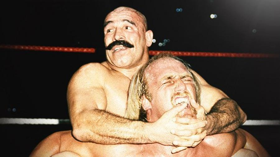 Hulk Hogan is the only man in the world to escape Iron Sheik's camel clutch.