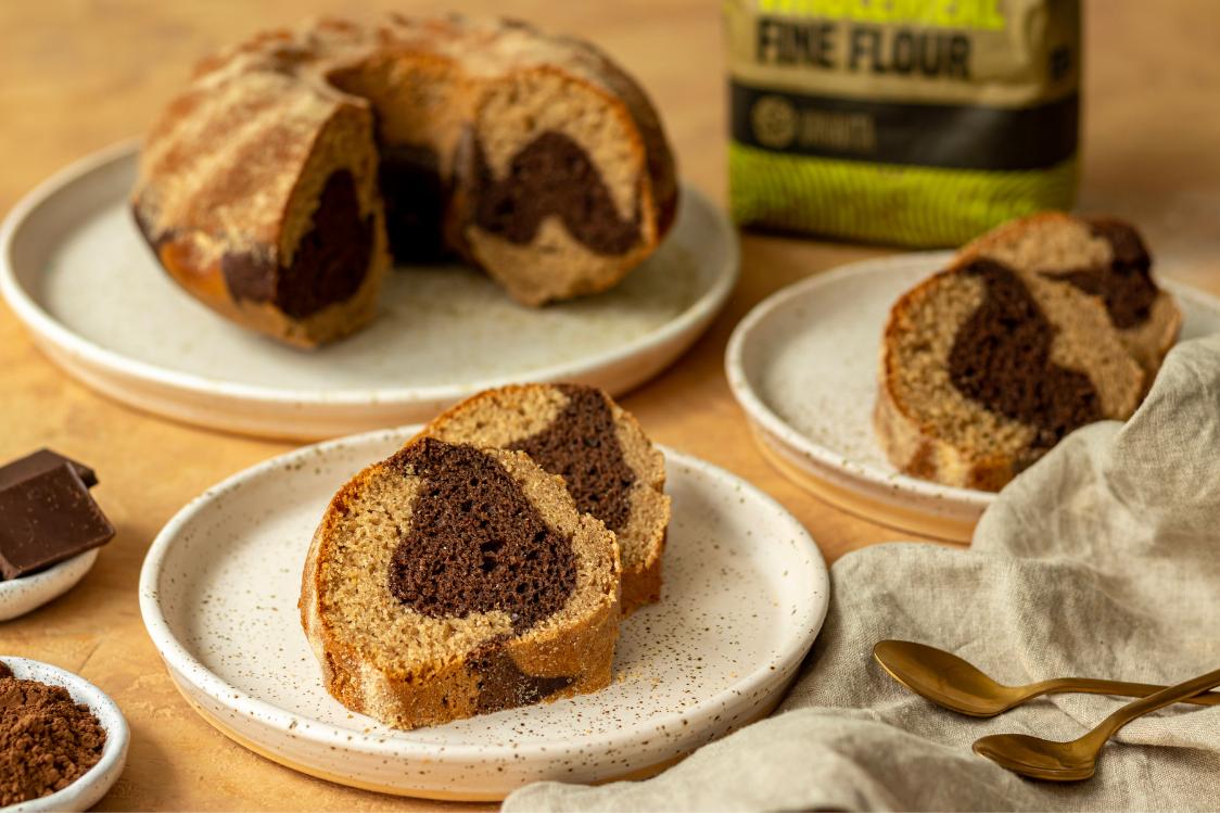 Przepis fitness: Puszyste ciasto marmurkowe