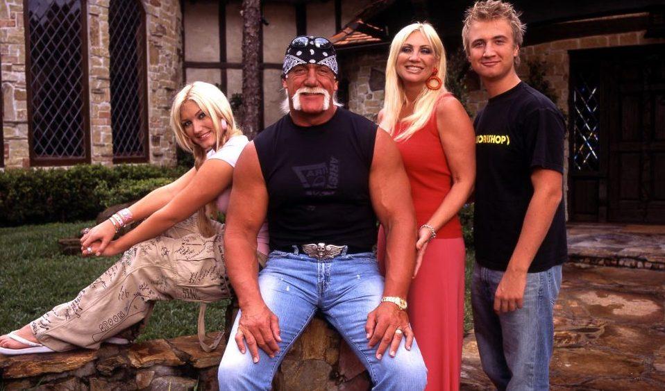 Hulk Hogan and his family