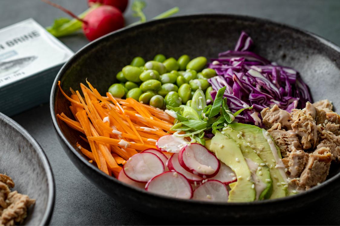 Fitness Recipe: Poke Bowl with Rice & Tuna