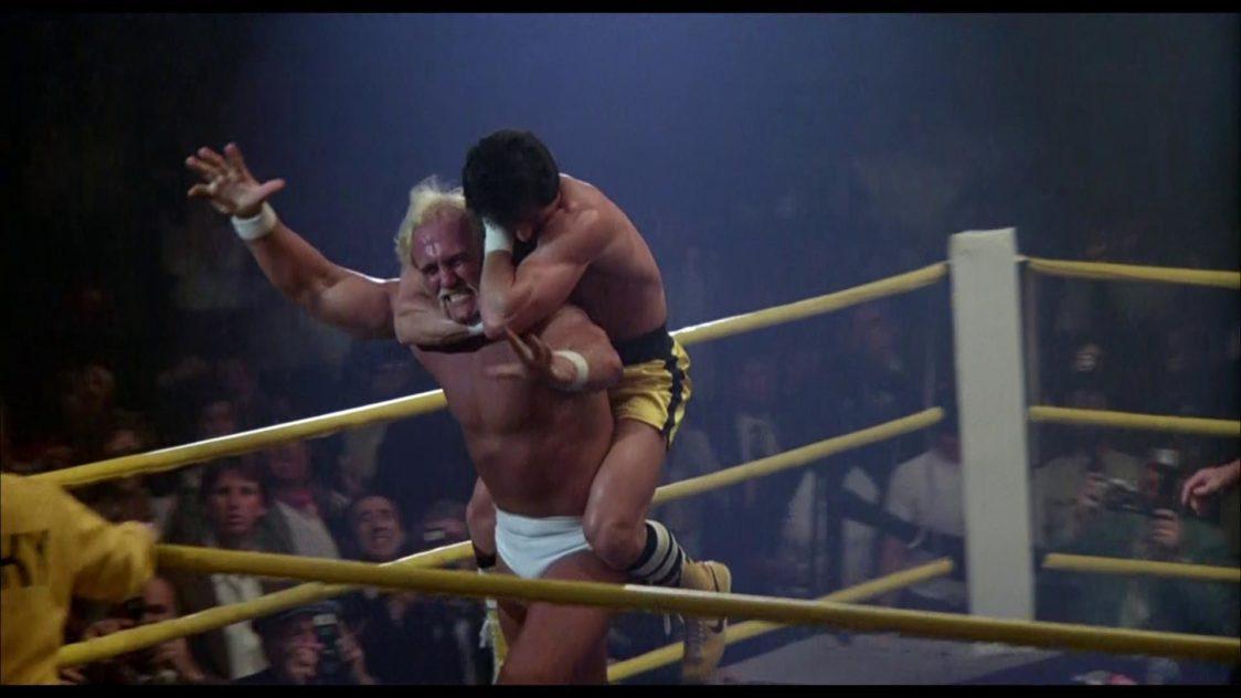 Hulk Hogan in the movie Rocky III