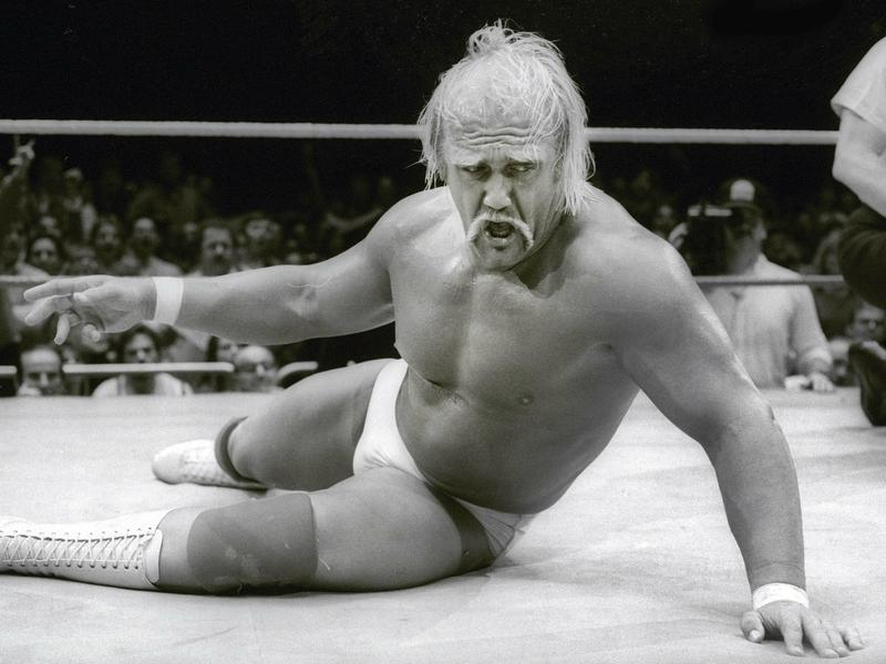 Hulk Hogan: One of the most influential wrestlers in the world, weighing 137 kg at his best