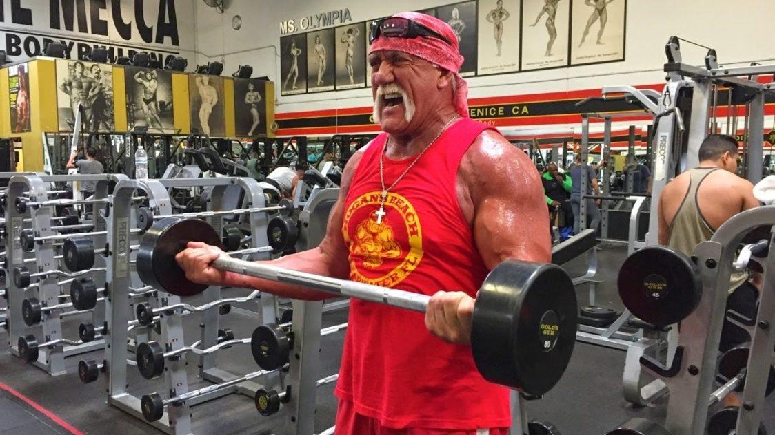 Hulk Hogan's training