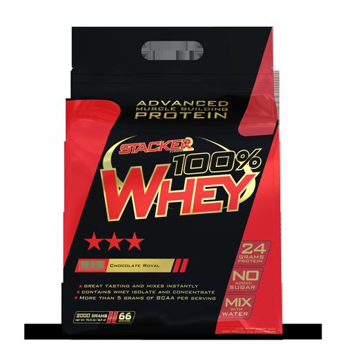 Stacker 2 100 Whey Protein 2000 g vanilka