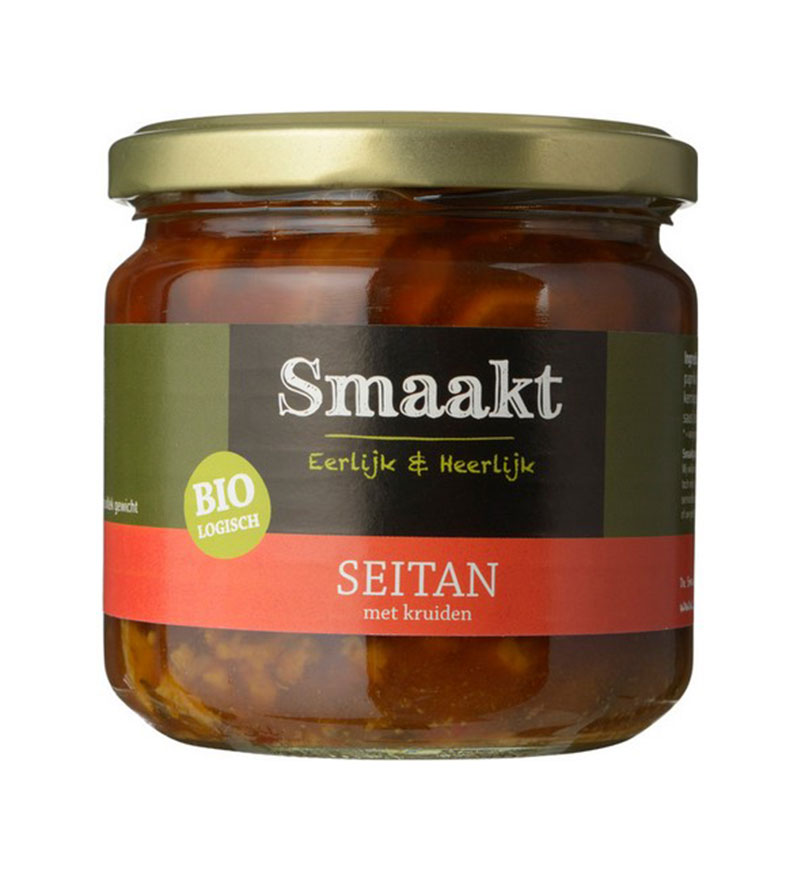 Smaakt Bio Seitan Spicy 350 g