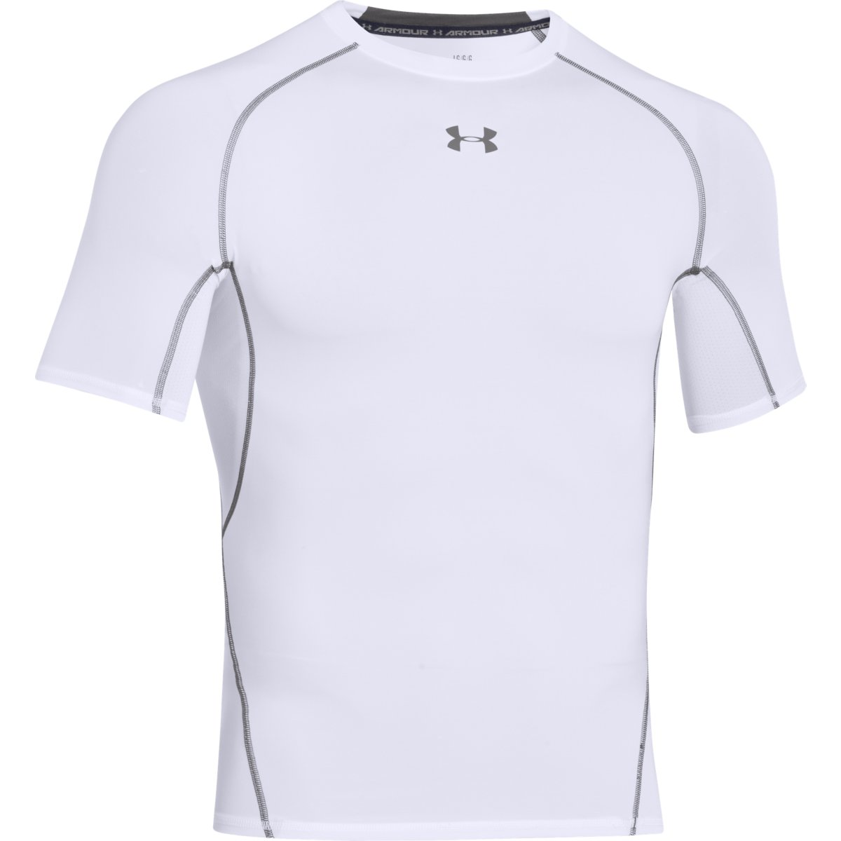 Under Armour Kompresné tričko HG Armour SS White  XXL