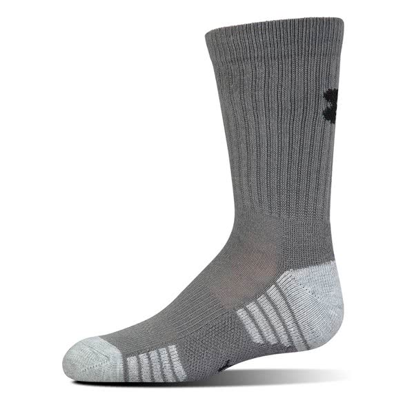 Under Armour - Ponožky Heatgear Crew Grey  M