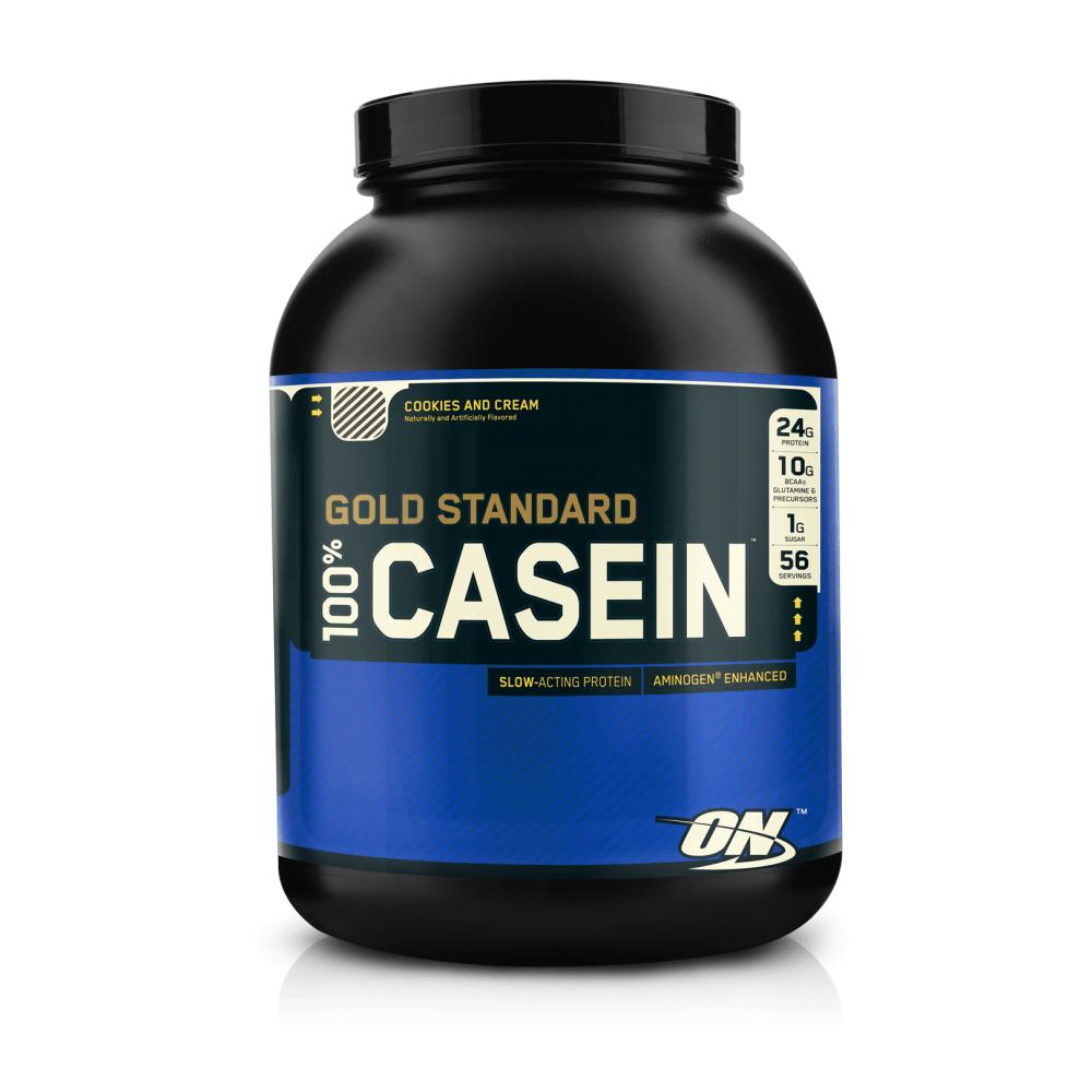Optimum Nutrition 100% Casein Protein 910 g jahoda