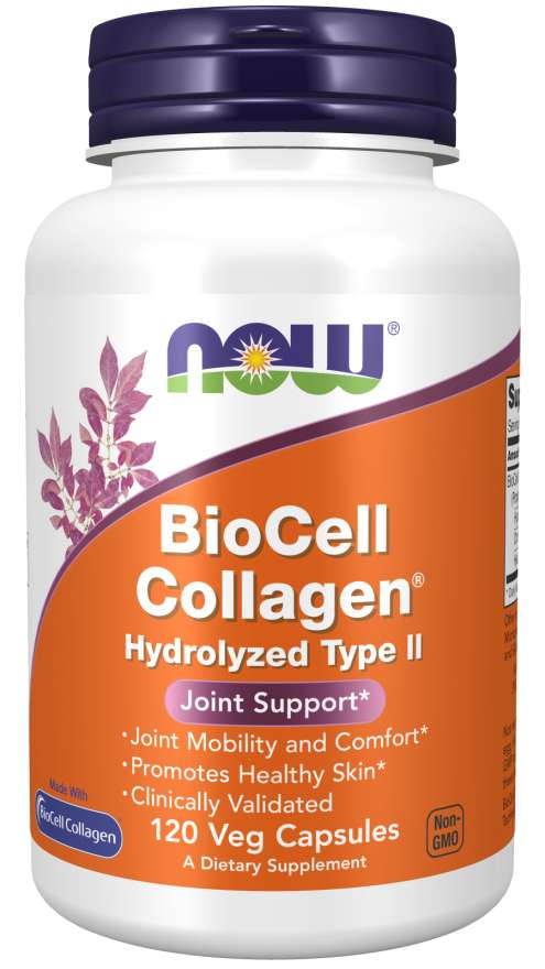 NOW Foods BioCell Collagen 120 kaps.