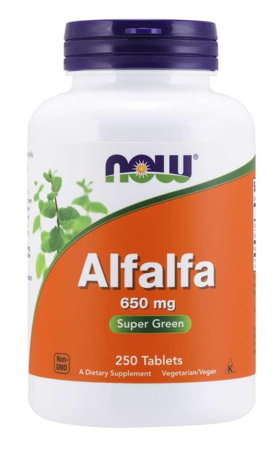 Now Foods Alfalfa 250 tabliet
