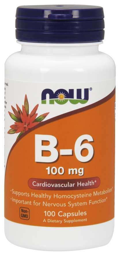 Now Vitamin B-6 100 kapsúl