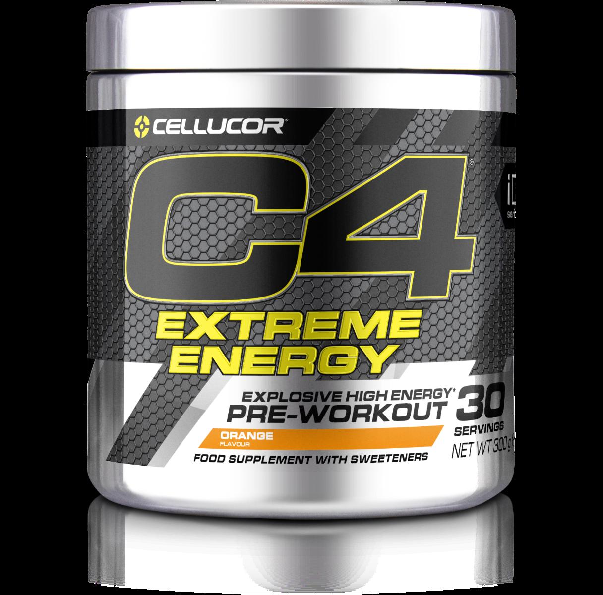 Cellucor Predtréningový stimulant C4 Extreme Energy 300 g ovocný punč