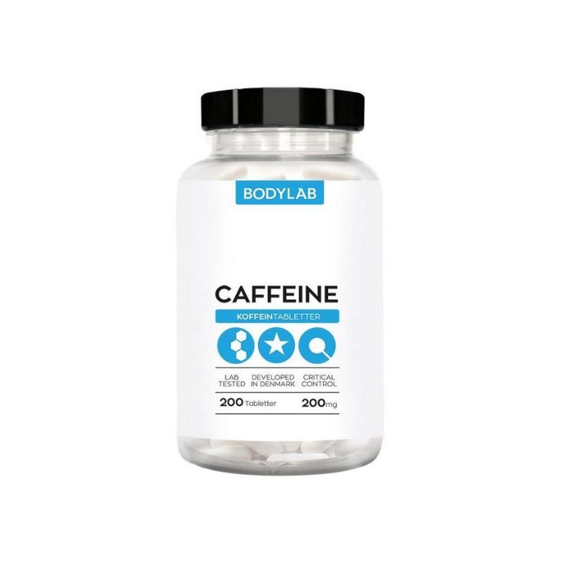 Bodylab Caffeine 200 tabliet