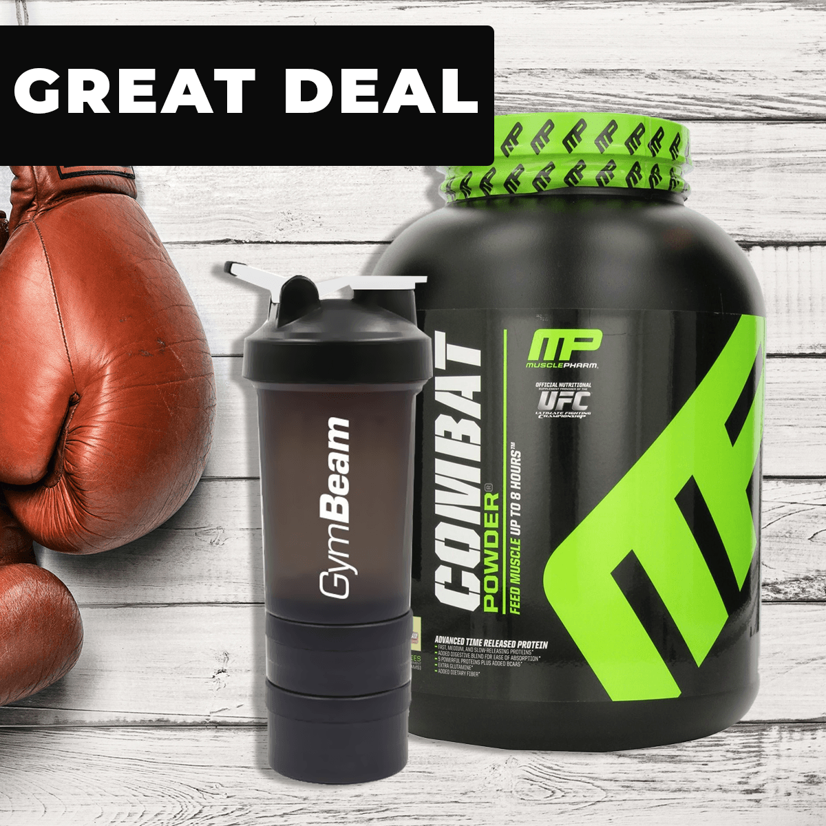 Musclepharm Combat 1800 g strawberry