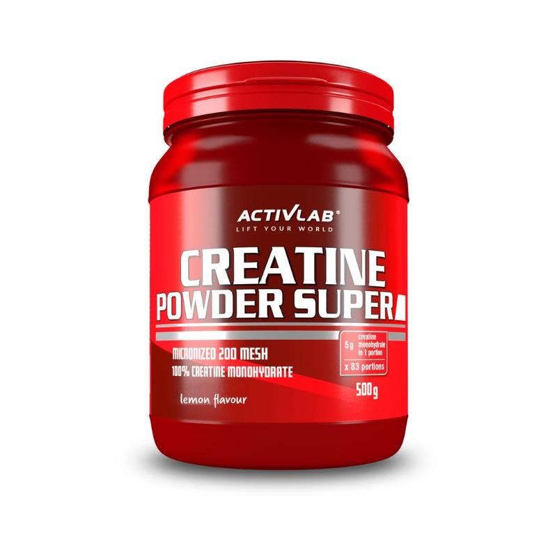 ActivLab Creatine Powder 500 g citrón