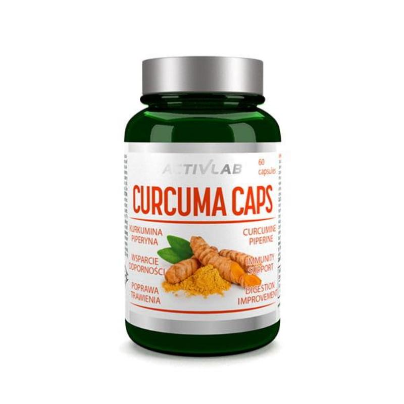 ActivLab Curcuma Caps 60 kaps.