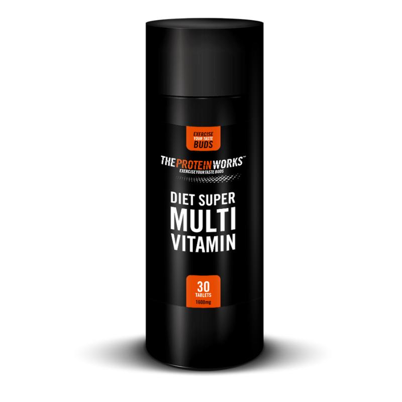 TPW diet super multivitamin 30 tab.