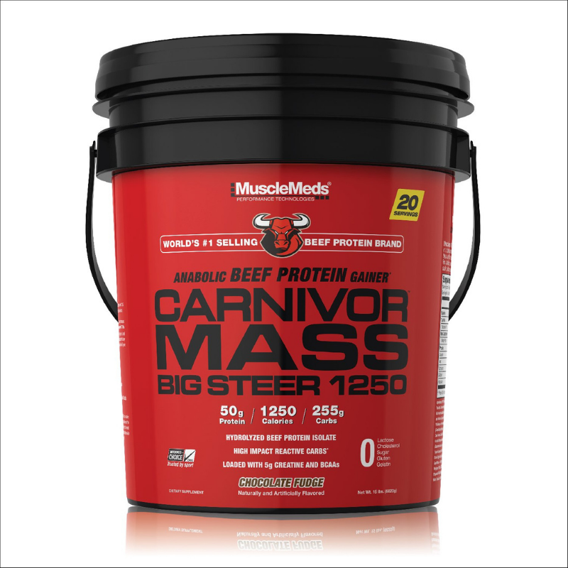 Carnivor Mass Big Steer - MuscleMeds 6800 g čokoláda