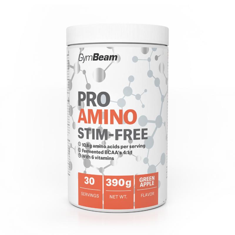 GymBeam ProAMINO stim-free 390 g pomaranč