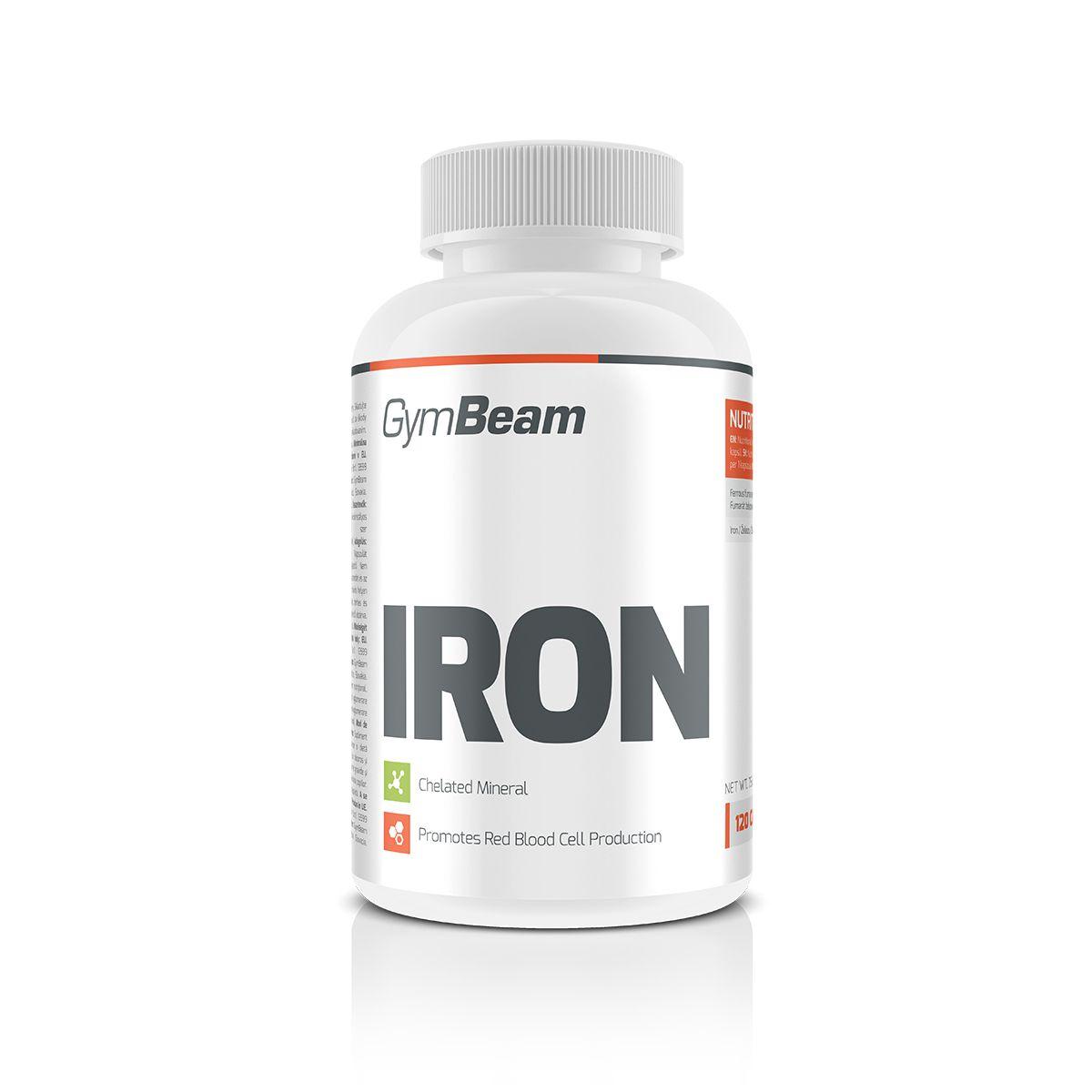 GymBeam Iron 120 kaps