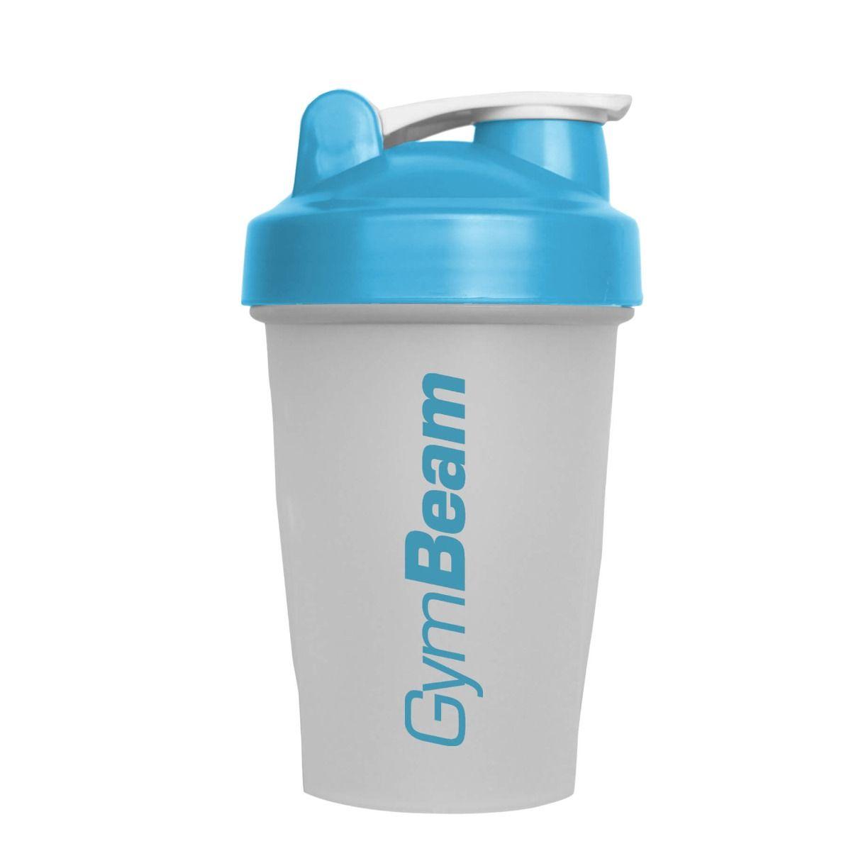 GymBeam Šejker Blend Bottle priesvitno-modrý 400 ml