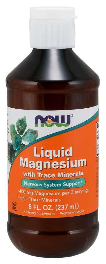 NOW Foods Tekuté Magnézium 237 ml