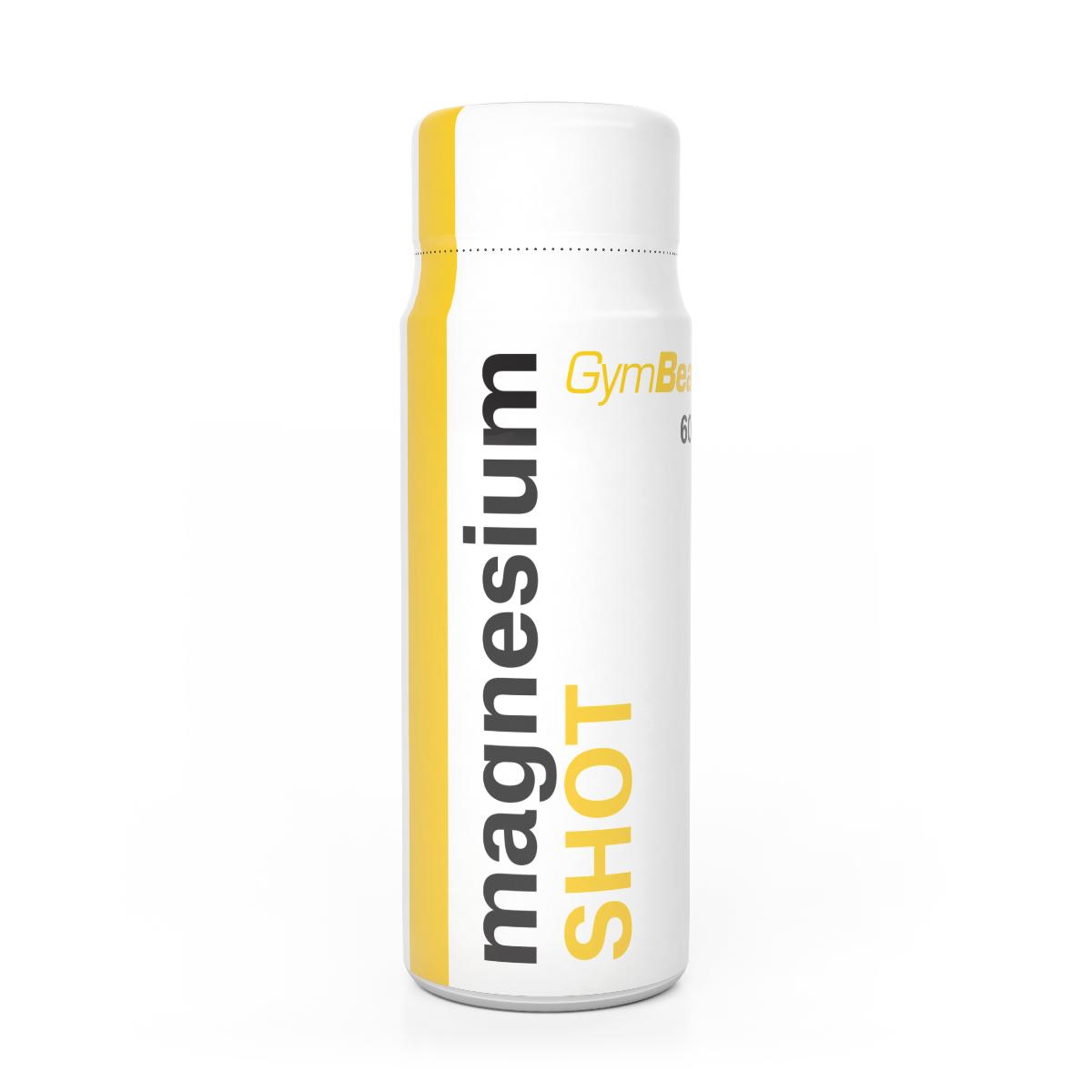 GymBeam Magnesium Shot 60 ml citrón