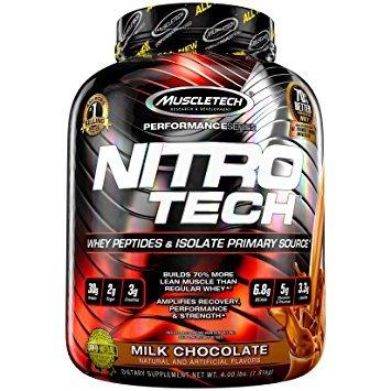 Proteín Nitro-Tech Performance - MuscleTech 1810 g čokoládové cookie cesto