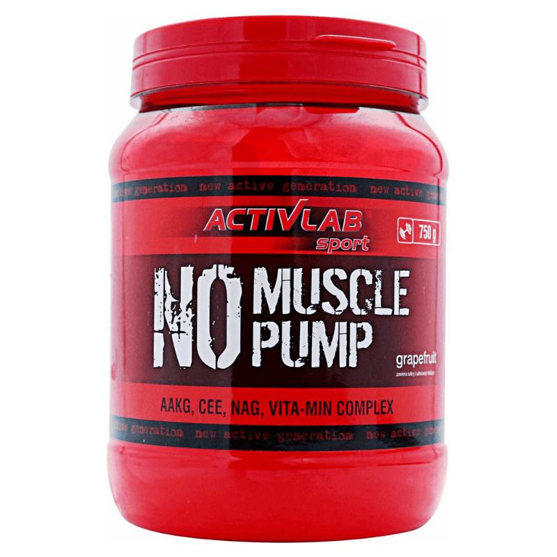 Activlab NO Muscle Pump 750 g lemon