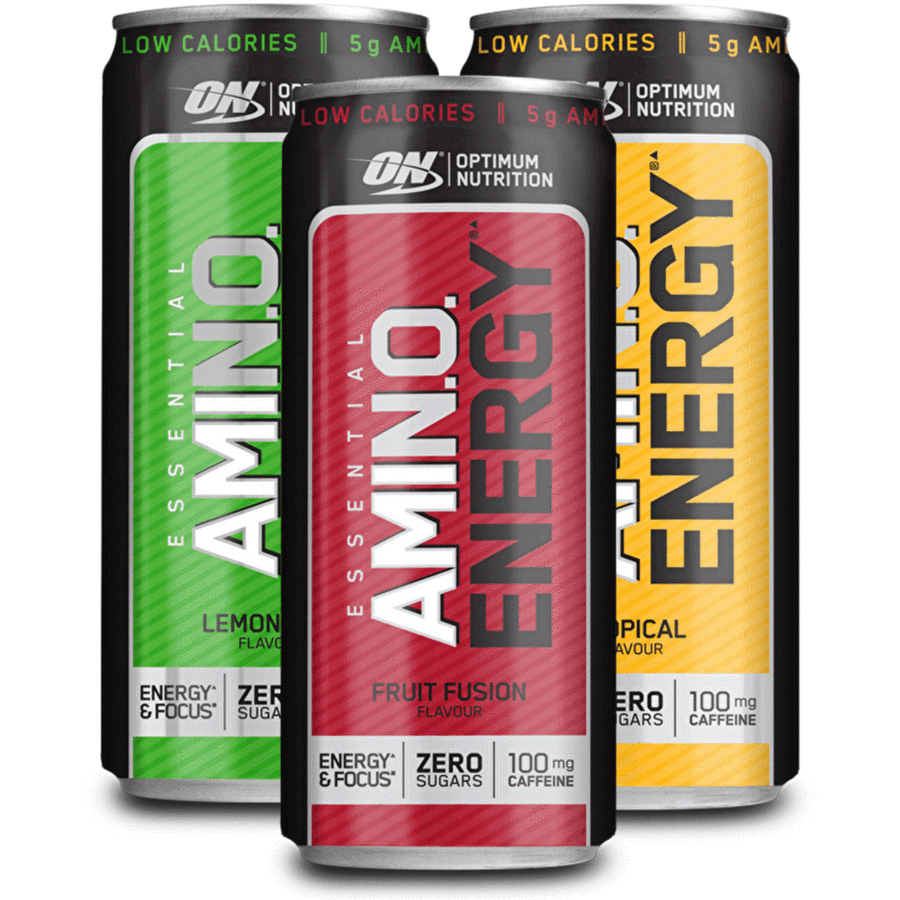 Optimum Nutrition Amino Energy RTD 330 ml lemon lime